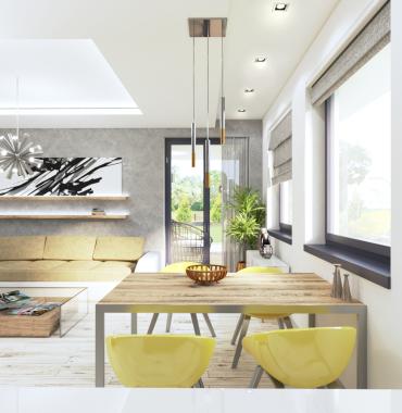Novostavby piatich RD v 4 - izbovom prevedení v obci DOLNÁ STREDA