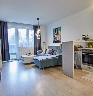 Krásny 2 izbový byt s terasou, Arboria